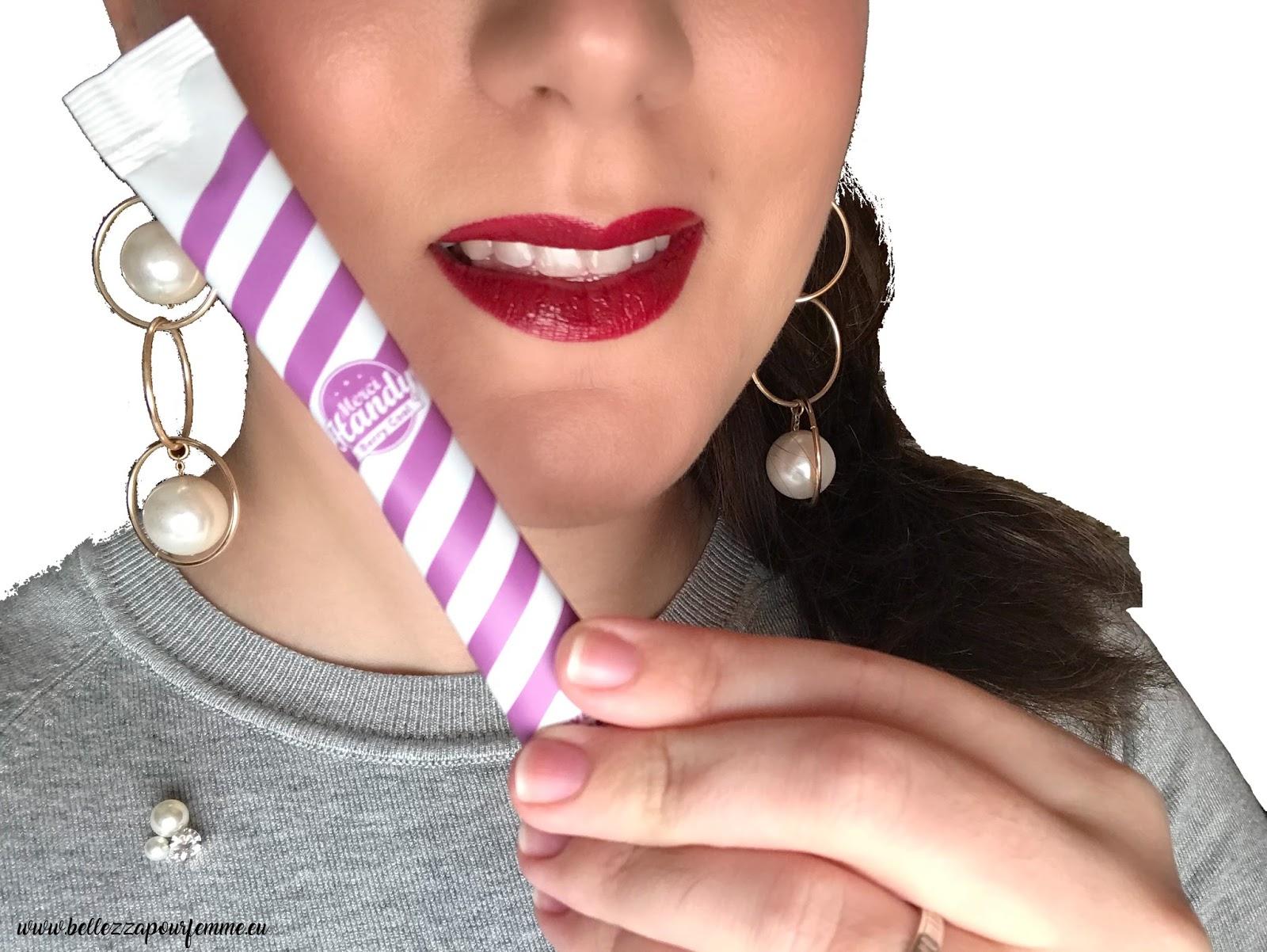 Denti più bianchi con i kit Love & Smile Detox Merci Handy