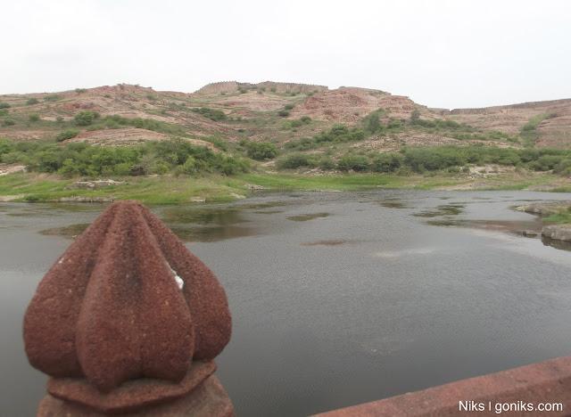 lake near jaswant thada in jodhpur