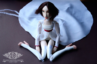 ADdoll_Anna_Max_9. Анна и Макс. Портретные куклы-болтушки.