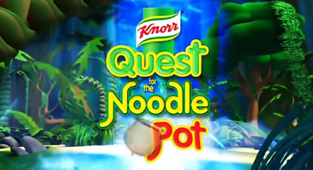 Knorr Quest for Noodle Pot Full Cartoon