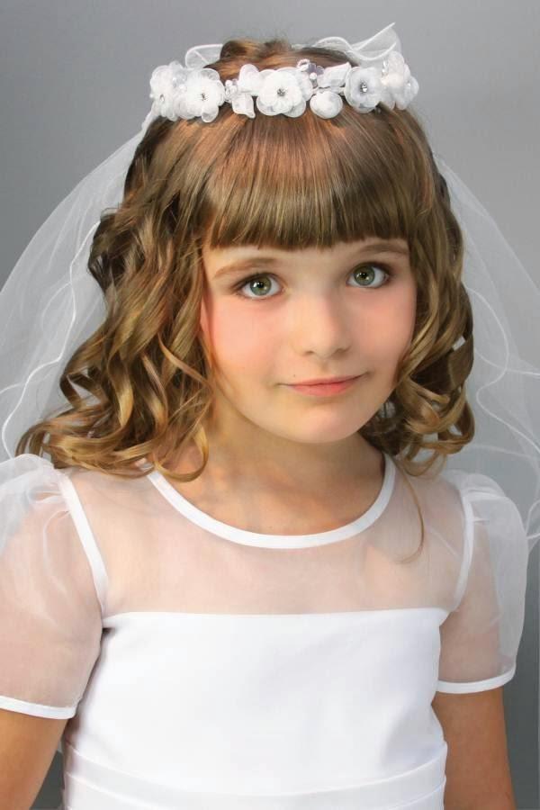 Explicación peinados para niñas de comunion Fotos de tendencias de color de pelo - Peinados De Fiesta: Peinados de niñas en su Primera ...