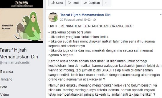 Viral! Ajakan Menikahi Suami Orang Lain di Facebook Bikin Heboh Netizen