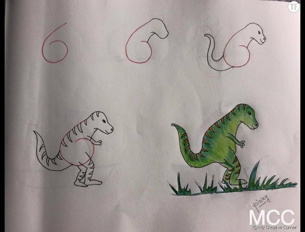 Dessin avec des chiffres tn92 jornalagora - Apprendre a dessiner pour enfant ...