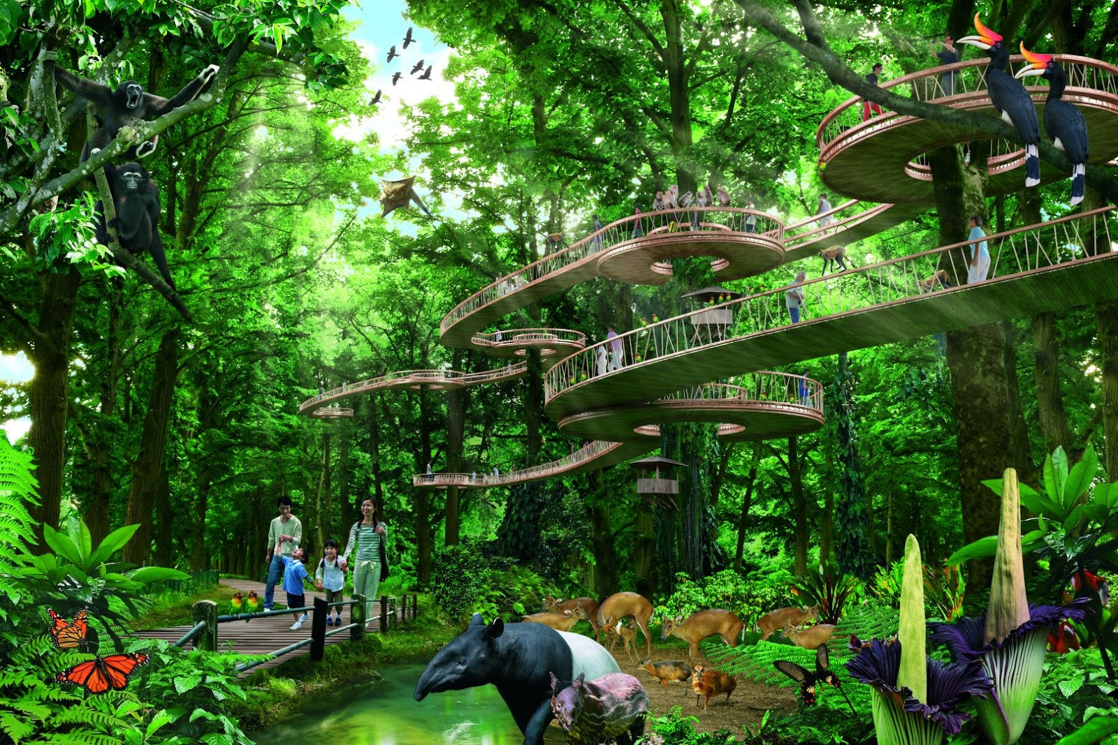 Mandai to feature new 'immersive zoo-type experience'