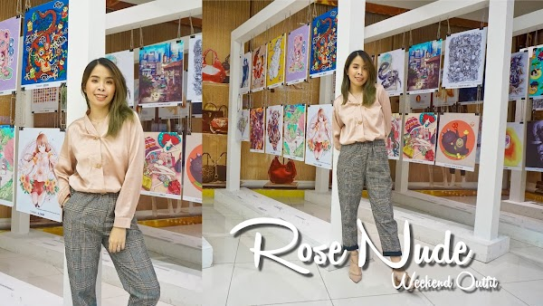 Rose Nude Weekend Outfit #88