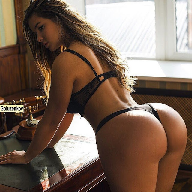 Hot girls Anastasia Kvitko sexy more than Kim Kardashian 3