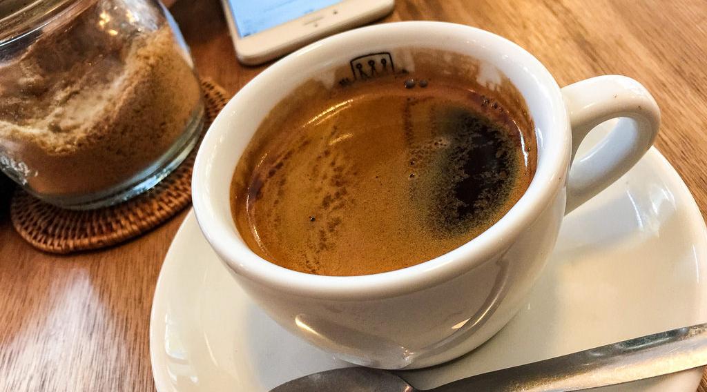 rasa kopi nikmat dan manis