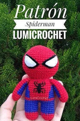 Crochet Spiderman - FREE pattern | Crochet projects, Crochet dolls ... | 400x267