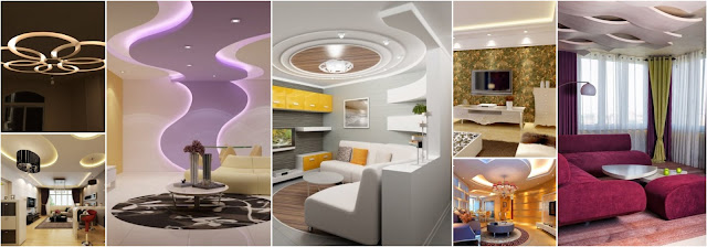 20 Gypsum Ceiling Designs For More Attractive Houses