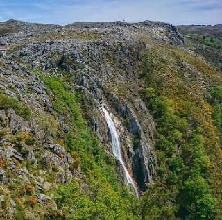 queda de água do rio Caima, Frecha da Mizela, Arouca, Portugal