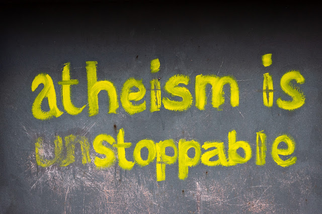 Graffiti - Atheism is unstoppable