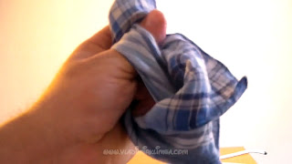 Manualidades y trucos con nudos en el pañuelo. Revelacion 06