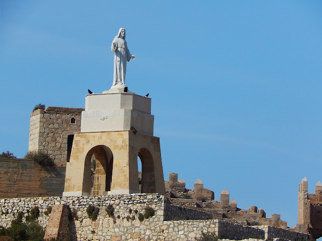 Pomnik Jezusa w Almerii