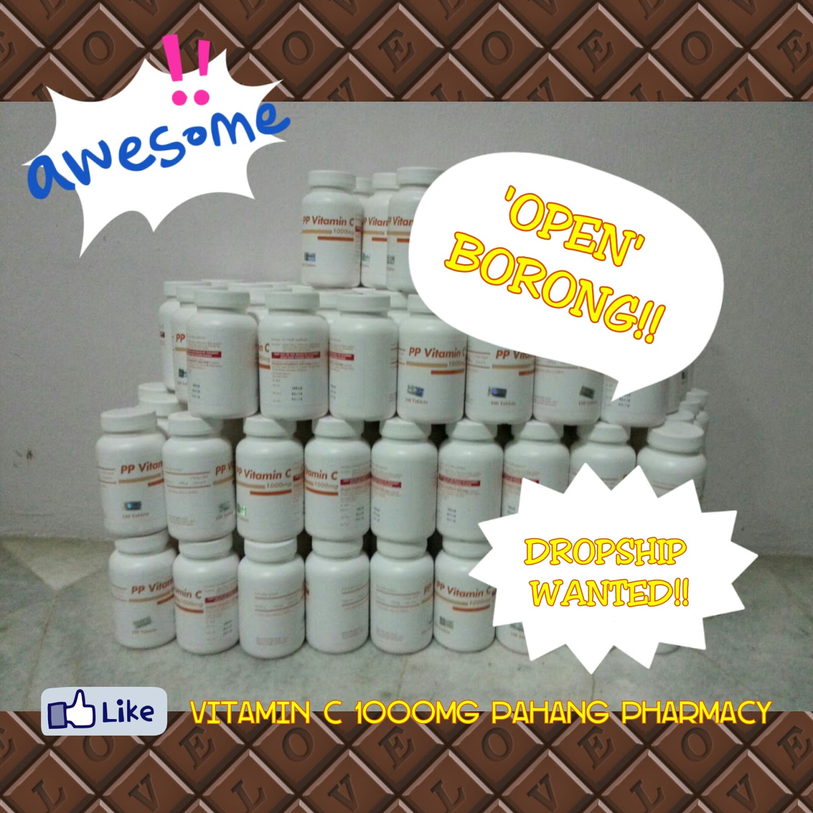mazim outlet borong vitamin c 1000mg pahang pharmacy