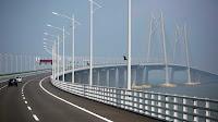 A estrutura liga Hong Kong, Macau e a cidade chinesa de Zhuhai, localizada no sul da China. A abertura da ponte deverá acontecer já nos próximos meses.