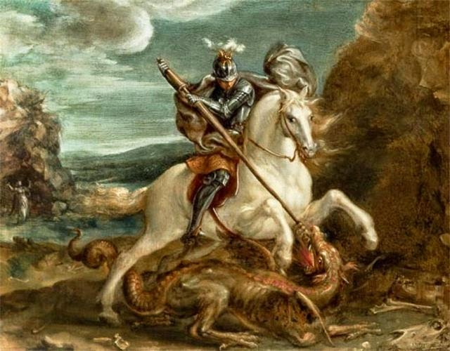 St George Dragons: Clas Merdin: Tales From The Enchanted Island: Saint George