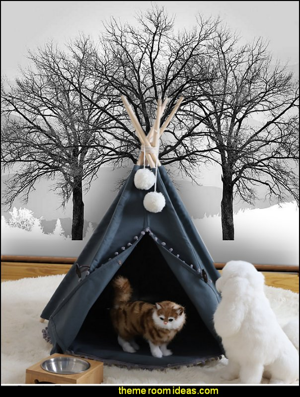 Teepee tent Pet beds  pet gift ideas - gifts for pets - gifts for dogs - gifts for cats - creative gifts for animal lovers‎ - gifts for pet owners pet stuff - cool stuff to buy - pet supplies - pet cookie jars - dog throw pillows - dog themed bedding - cat throw pillows - paw pillows - gifts for cat loving friends - gifts for dog loving friends