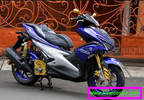 100 Gambar Desain Modifikasi Motor Yamaha Aerox S Keren Update Terbaru