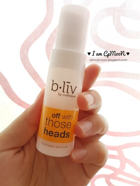 Blackheads control with b.liv Off With Those Heads