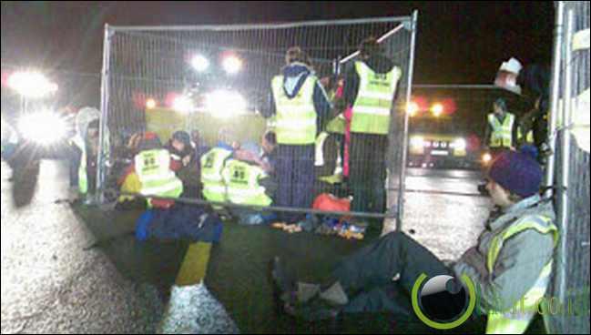The Gillingham Fire Demonstration