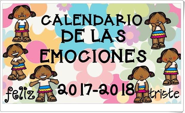 """""""Calendario de las Emociones 2017-2018"""""""