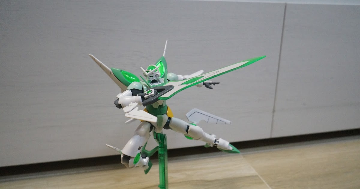 Manpig 39 s collection hgbf gundam portent mini review for Portent reviews