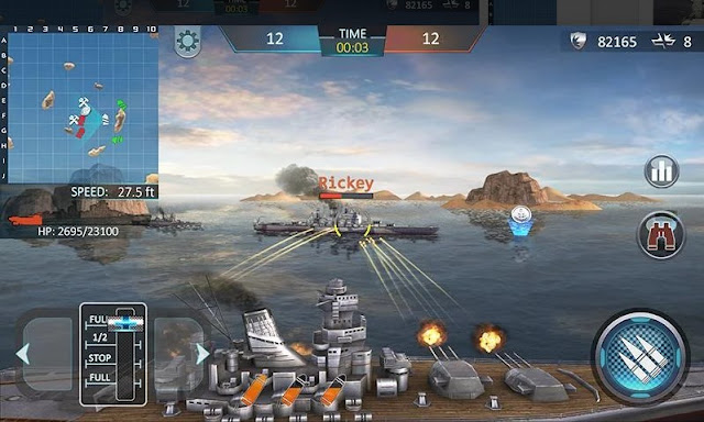Battleship Attacks 3D - Warship Attack