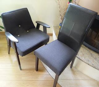 odrestaurowanie krzesła