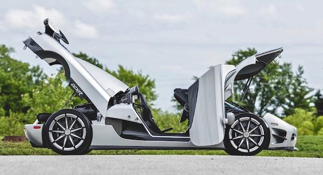 新車価格は5億円以上!?メイウェザーが所有していた「ケーニグセグ・CCXR TREVITA」がオークションへ。
