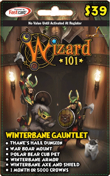Wizard101 Winterbane Gauntlet Bundle