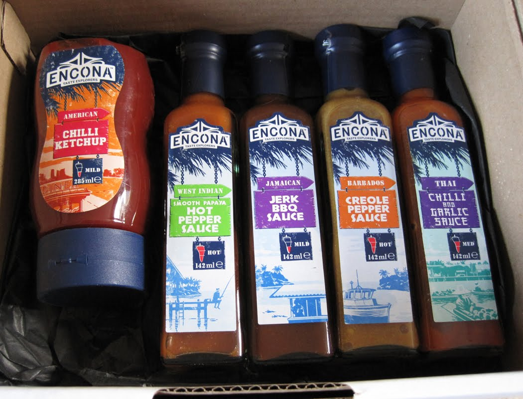 Encona Sauces - Taste Explorers Range