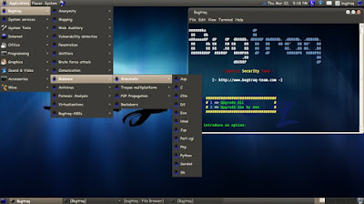 Bugtraq OS for hacking
