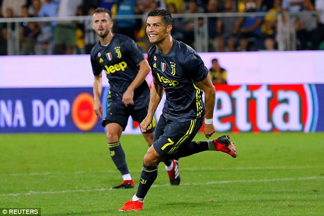 Ronaldo đang có phong độ cao