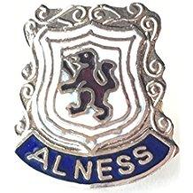 Alness Highland Escocia Escudo insignia con alfiler de Solapa Esmaltada