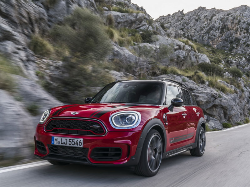 2017 MINI Countryman More Fast And Aggressive