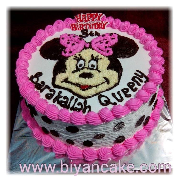 Biyancakes Toko Kue Tart Bekasi Kue Tart Minnie Mouse