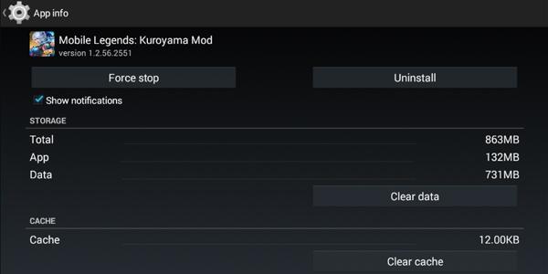 Mobile legends Kuroyama Mod 5