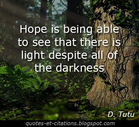 citation espoir