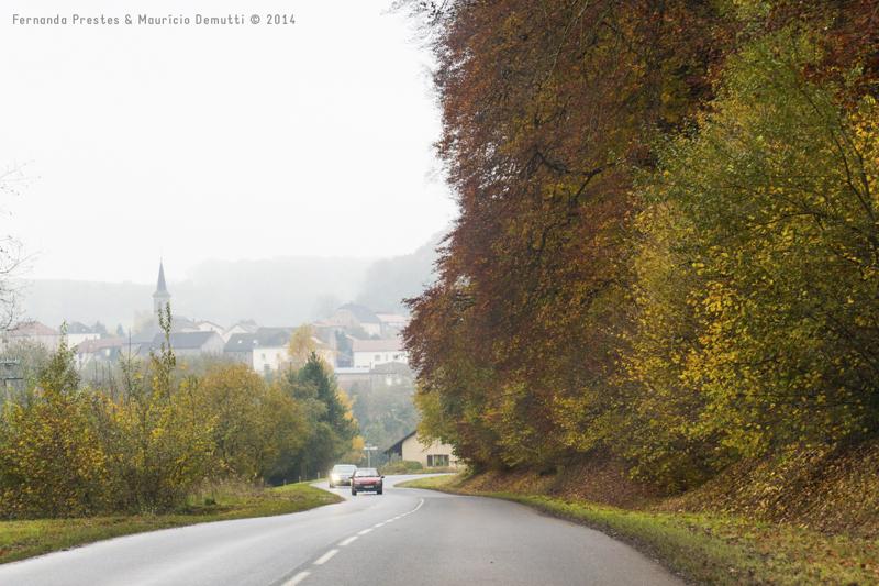 estrada na França