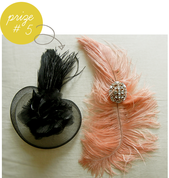 vintage hair piece giveaway