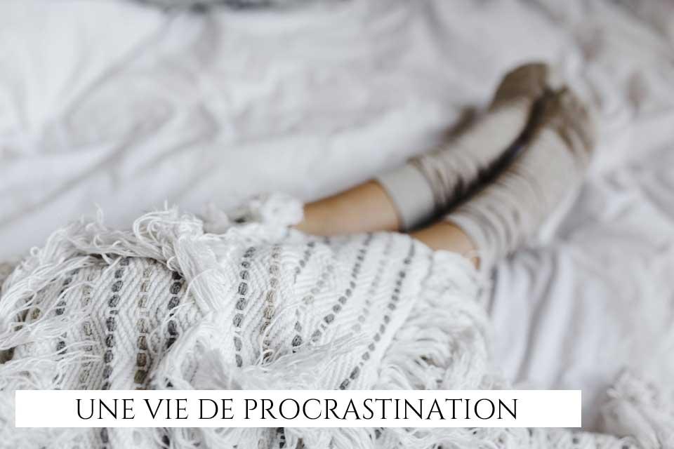 Procrastination un jour...