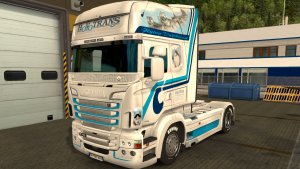 Scania RJL Hovo skin