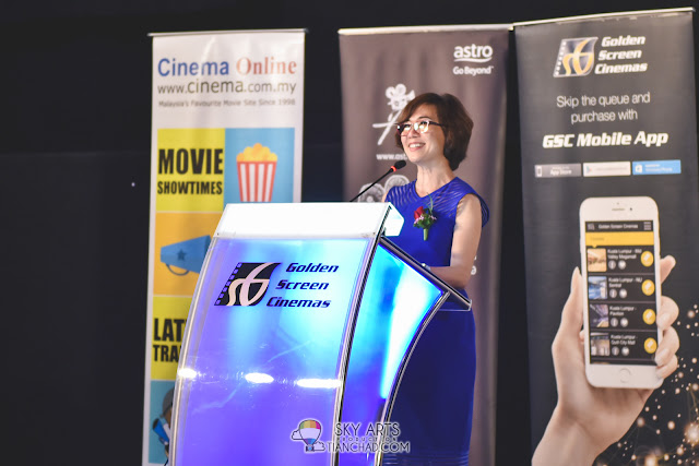 Koh Mei Lee (Chief Executive Officer, Golden Screen Cinemas Sdn. Bhd.) at Japanese Film Festival 2017 Launch