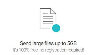 inviare allegati grandi 5 GB