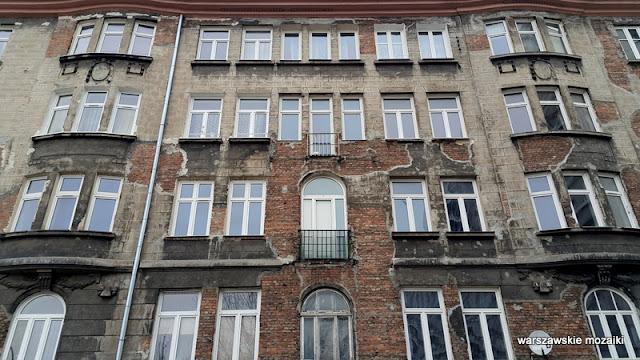 Warszawa Warsaw Wola stuletnia kamienica Pereca architektura