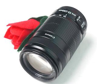 Jual Lensa Bekas Canon 55-250mm IS