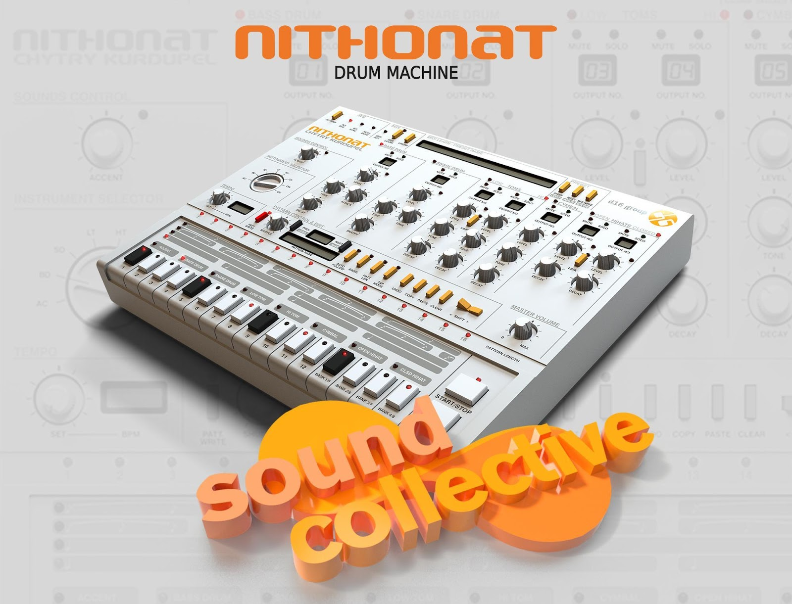 matrixsynth novation offers free d16 nithonat plugin drum machine 50 discount rest of the. Black Bedroom Furniture Sets. Home Design Ideas
