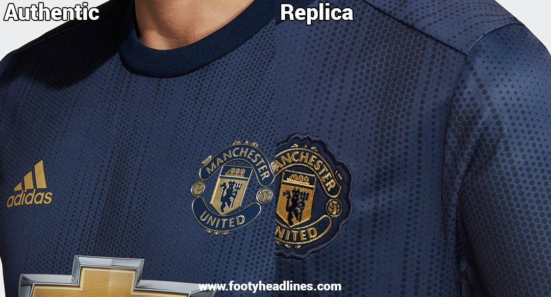 newest d0890 e7a02 Leaked: Authentic Adidas Manchester United 18-19 Third Kit ...
