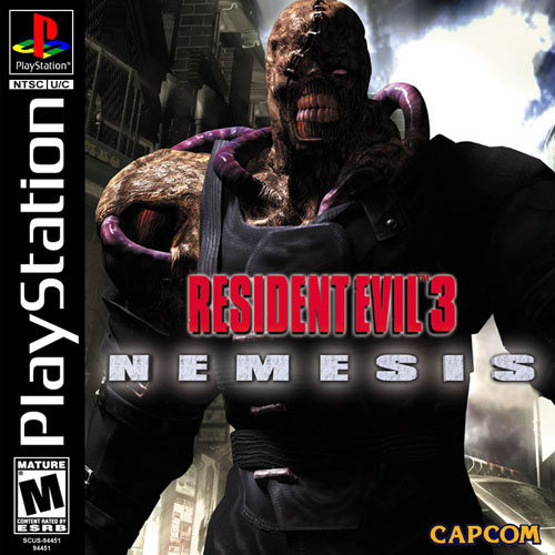 Resident Evil 3 - Nemesisk - PS1 - ISOs Download
