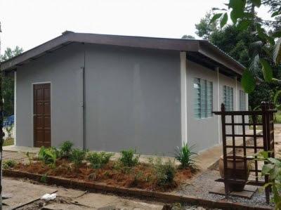 Pelajar Kolej Komuniti Bina Rumah Mampu Milik Dengan Harga RM19,900
